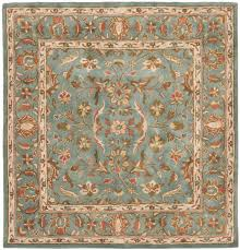 Blue And Gold Rug Rug Hg969a Heritage Area Rugs By Safavieh