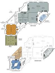 floor layout floor plans santa clara convention center