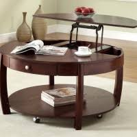 Wooden Coffee Table With Wheels round metal wooden coffee table with wheels mixed triangular