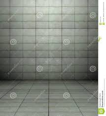 3d wall with tiles texture empty interior stock image image