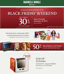 Barnes And Noble Nook Coupon Barnes And Noble Black Friday 2016 Ad Scan Page 1