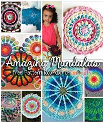 free crochet patterns for home decor you spin me round like a mandala 10 free mandala crochet patterns