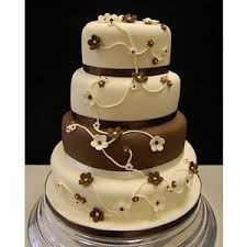 brown cake brown wedding cake wedding ideas and themes brown