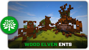1001 Minecraft House Ideas Minecraft Building Tutorial How To Build Wood Elven Ents Youtube