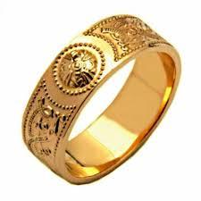 gold wedding rings for gold wedding ring an ri celtic wedding ring fado 14k