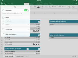 Mac Spreadsheet App Explore Microsoft Excel For Ipad Collaborate Share And Sync