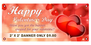 happy valentines day banner how to create custom s day banners online