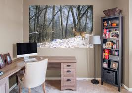 woods wall mural images home wall decoration ideas deer in the woods mural wall decal shop fathead for general deer in the woods fathead