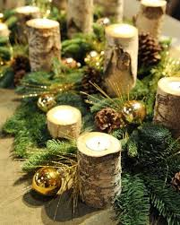 Christmas Ideas For Decorations On Tables by Best 25 Christmas Table Decorations Ideas On Pinterest
