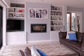 Living Room Media Furniture Alcove Bookcase Media Cabinets Bookshelves Bespoke Design