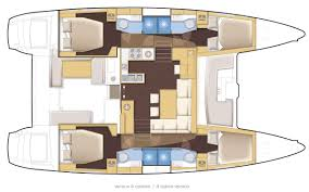 Cabin Layouts Lagoon 450 Flybridge The Multihull Group Tmg
