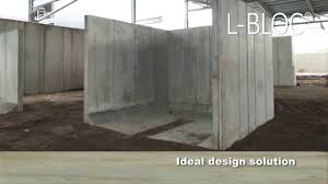 Recon Retaining Wall by Poundfield Products L Bloc Concrete Retaining Wall Youtube