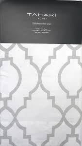 Tahari Home Drapes by Amazon Com Tahari Linen Window Panels Curtains Set Of 2 Light