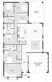 single story modern house plans bedroom design image of ide four