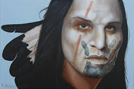 native american face paint customs colors designs various