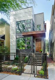 Green Homes by Chicago Net Positive Two Story Green Home With Modern Facade