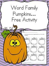 halloween word family fun free phonics worksheet for halloween
