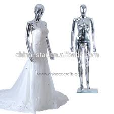 beautiful stand female wedding dress mannequin display standing