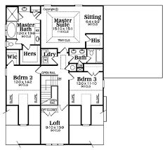 bungalow style house plan 4 beds 2 50 baths 2761 sq ft plan 419 298