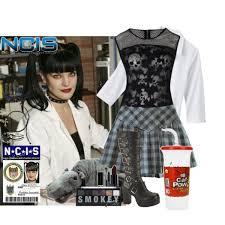 Abby Sciuto Halloween Costume Fashion 2014 Featuring Tops Lab Coats