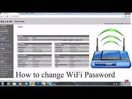 resetting wifi password how to change wifi password easy video youtube