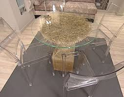 Glass Top Table Design DIY Project Unique Room Decorating Ideas - Glass top dining table decoration