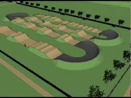BMX Track Regional Level Design Animation  Design By Tony - Backyard motocross track designs