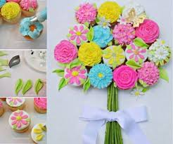cupcake flowers cupcake bouquet tutorial with the whoot