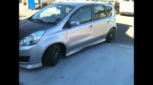 nissan note 2007 nissan note rom tuning youtube