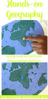 Longitude Map Hands On Geography Longitude Latitude Mapmaking Activity