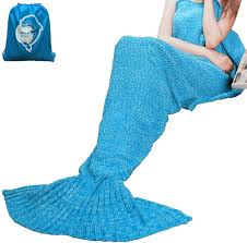 laghcat mermaid tail blanket crochet mermaid blanket for