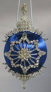 easy beaded ornaments kits ornament satin