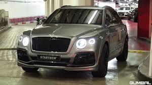 bentley startech startech bentley bentayga w sport exhaust revs u0026 driving youtube