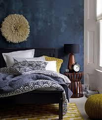 schlafzimmer blaugrau blau grau wandfarbe schlafzimmer übersicht traum schlafzimmer