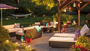 Ideas For Backyard Patio Lighting Ideas For Outdoor Living