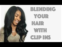 knappy hair extensions blending your hair with clip ins knappy hair extensions youtube