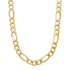 necklace figaro images Everlasting gold men 39 s 14k gold figaro chain necklace 22 in