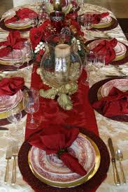 christmas party table decorations 50 stunning christmas table settings style estate christmas party