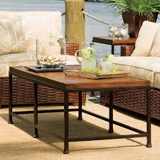 tommy bahama ocean club double pedestal rectangle glass dining