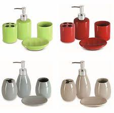 Valsan Bathroom Accessories Uk Ceramic Bath Accessory Sets Ebay