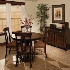chancellor pedestal extension table amish tables