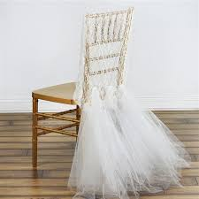 lace chair covers buy party lace and tulle tutu chair covers bulk price