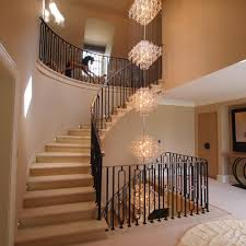 Elegant Entryways Foyer Chandeliers Mode South East Traditional Staircase Remodeling