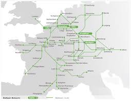 Karlsruhe Germany Map by Railteam High Speed Europe