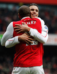 Robin Henry Thierry Henry And Robin Van Persie Photos Photos Arsenal V