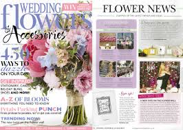 wedding flowers and accessories magazine in the press illustries books for s best moments