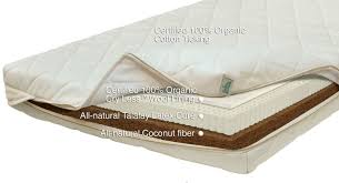Organic Crib Mattress Pad Natura Organic Baby Crib Mattress Futon D Or