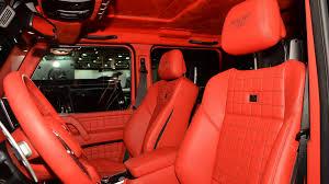 G Wagon 6x6 Interior Brabus B63s 6x6 Sixes Up The Messe Autoblog