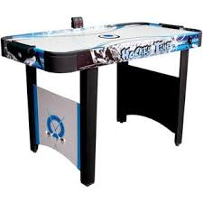Md Sports Hockey Time 48 Inch Air Hockey Table Bubble Air Hockey