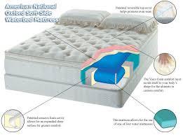 oxford soft side waterbed mattress discount mattress
